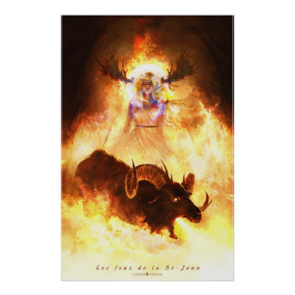 Fires of the St-Jean Poster
