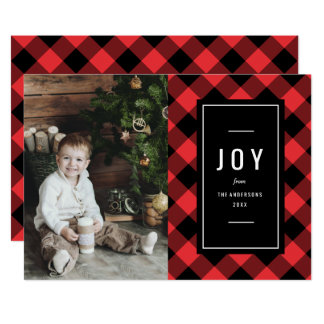 Fireside Holiday Photo Card