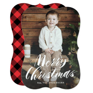 Fireside Holiday Photo Overlay Card