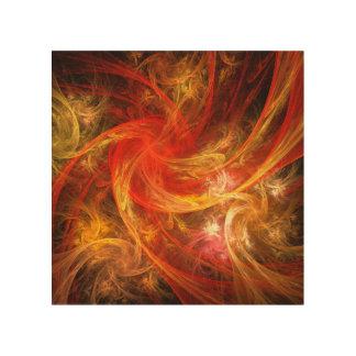 Firestorm Abstract Art