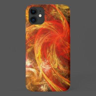 Firestorm Abstract Art Case-Mate iPhone Case