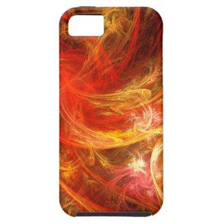Firestorm Abstract Art iPhone 5