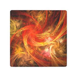 Firestorm Abstract Metal Wall Art