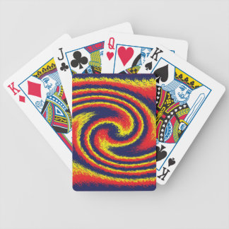 Firestorm Blue Playing Cards
