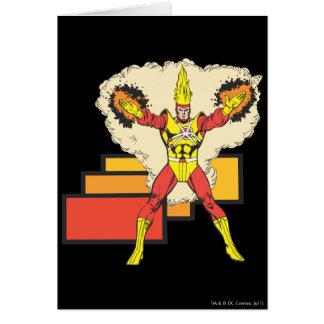 Firestorm In His Element Card