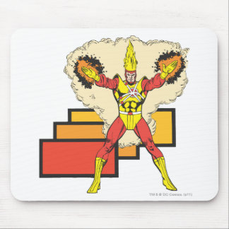 Firestorm In His Element Mouse Pad