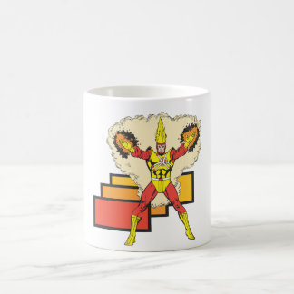 Firestorm In His Element Classic White Coffee Mug