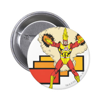 Firestorm In His Element Pinback Button
