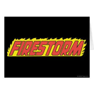 Firestorm Logo Card