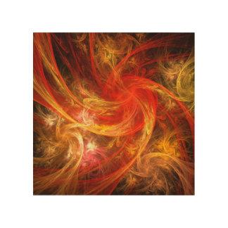 Firestorm Nova Abstract Art