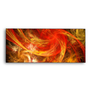Firestorm Nova Abstract Art #10 Envelope