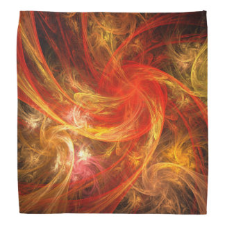 Firestorm Nova Abstract Art Bandana