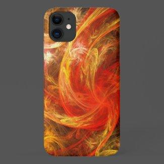 Firestorm Nova Abstract Art Case-Mate iPhone Case