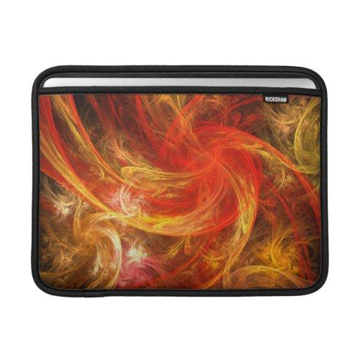 Firestorm Nova Abstract Art Macbook Air Sleeve For MacBook Air