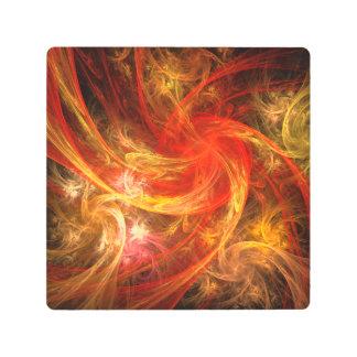 Firestorm Nova Abstract Metal Wall Art
