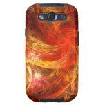 Firestorm Nova Abstract Samsung Galaxy S3 Galaxy SIII Cover