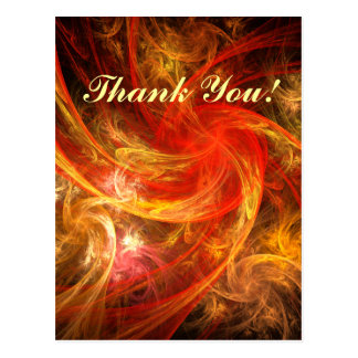 Firestorm Nova Thank You Postcard