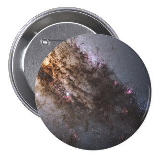 Firestorm of Star Birth in Galaxy Centaurus A Pinback Button