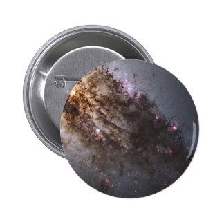 Firestorm of Star Birth in Galaxy Centaurus A Pinback Buttons