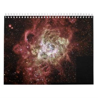 Firestorm of Star Birth in Galaxy M33 Calendar