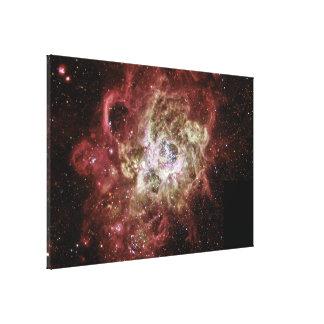 Firestorm of Star Birth in Galaxy M33 Canvas Print