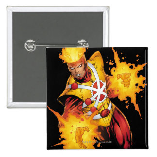 Firestorm Punch 2 Inch Square Button