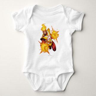 Firestorm Punch Baby Bodysuit