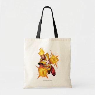 Firestorm Punch Budget Tote Bag