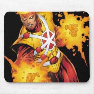 Firestorm Punch Mouse Pad