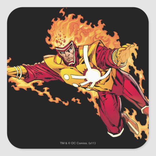 Firestorm Soaring 2 Square Sticker