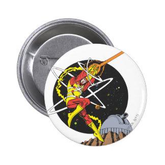 Firestorm - The Nuclear Man Button