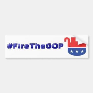 #FireTheGOP bumpersticker Car Bumper Sticker