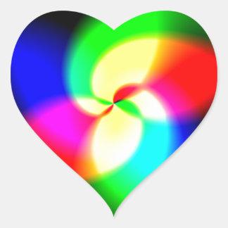 Firetop Heart Sticker