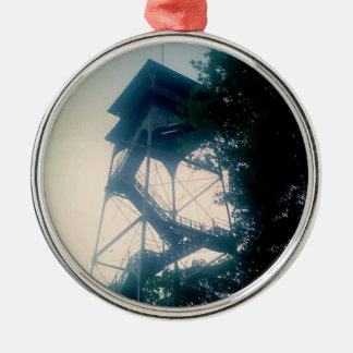 Firetower at the Grand Canyon Metal Ornament