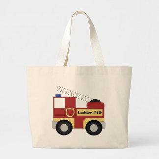 Firetruck Jumbo Tote Bag
