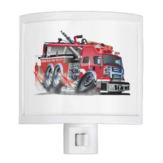 firefighter night lights zazzle. Black Bedroom Furniture Sets. Home Design Ideas