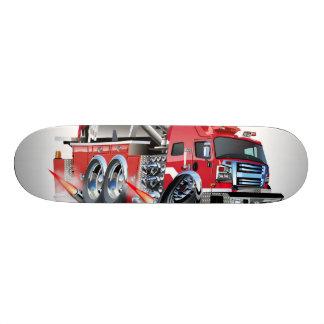 firetruck burnout skateboard deck