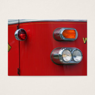 Firetruck Business Card