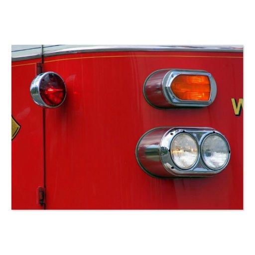 Firetruck Business Cards