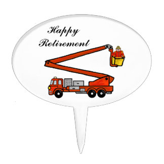 Firetruck Cake Topper   Customize It!
