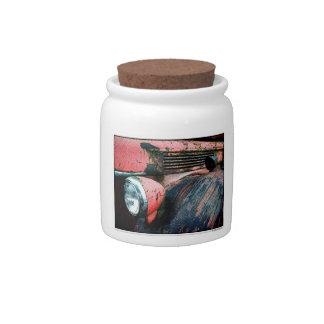 Firetruck Candy Jars