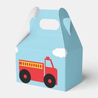 """""""Firetruck"""" Gable Favor Box"""