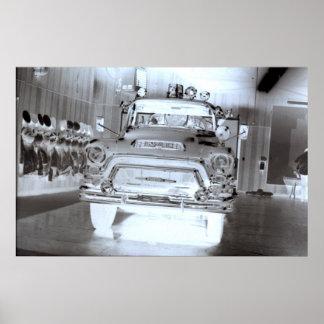 Firetruck GMC Poster