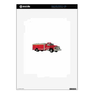 Firetruck iPad 2 Decal