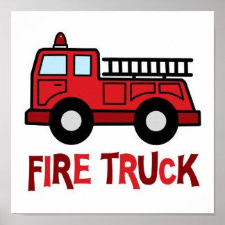 Firetruck Impresiones