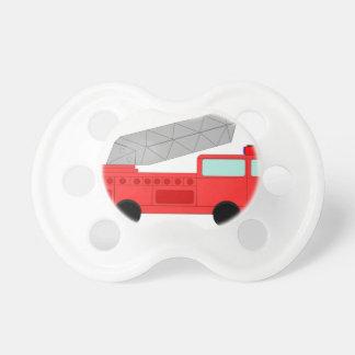 Firetruck rojo lindo chupetes para bebes