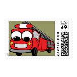FireTruck - Stamp