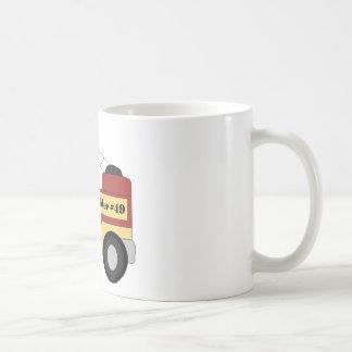 Firetruck Tazas De Café