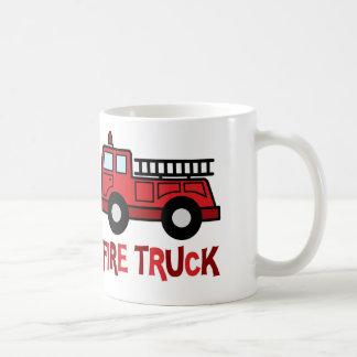 Firetruck Taza Clásica