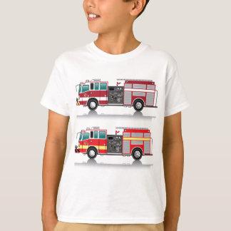 Firetruck Vector T-Shirt